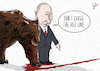Cartoon: The thin red line (small) by Emanuele Del Rosso tagged putin,russia,protests,regime,cold,war