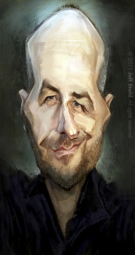 Cartoon: Bernd Ertl (medium) by Jeff Stahl tagged stahl,jeff,painting,digital,caricature,ertl,bernd