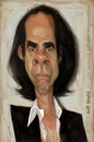 Cartoon: Nick Cave (small) by Jeff Stahl tagged nick,cave,stahl,caricature,illustration