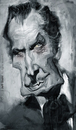 Cartoon: Vincent Price by Jeff Stahl (small) by Jeff Stahl tagged vincent,price,horror,movie,actor,gothic,digital,painting,caricature,illustration,jeff,stahl
