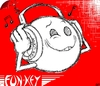 Cartoon: fun-key funk (small) by benni p-aus-e tagged fun,funk,funky,key,music,happy