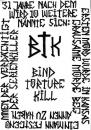 Cartoon: BTK - bind torture kill (small) by alesza tagged btk,bind,torture,kill