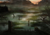 Cartoon: Swampland (small) by alesza tagged swampland marsh marshland swamp nature landscape