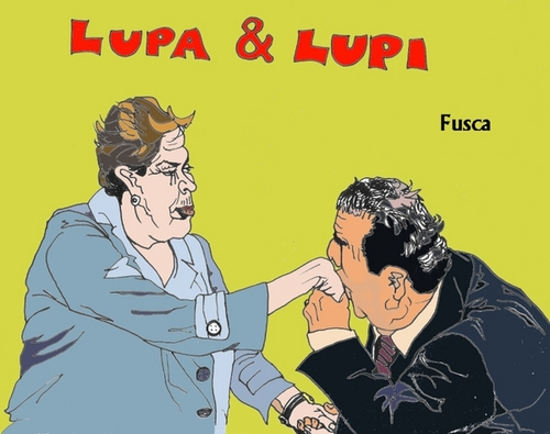 Cartoon: Another corruPT Braz. minister (medium) by Fusca tagged latrocracy,dilma,thief,lula,regime,terror,brazil,corruption