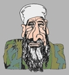 Cartoon: Bin Laden (small) by Fusca tagged terrorism,third,world,bin,laden,brazilian,pt,government,asylum,battisti,osama