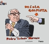 Cartoon: Lula Rousseff corrupt government (small) by Fusca tagged corruption,lula,ministers,rousseff