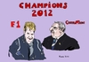 Cartoon: World Champions 2012 (small) by Fusca tagged vettel,f1,luladasilva,corruption,brazil,latrocracy,dictatorship