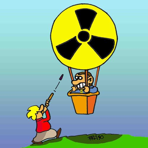 Against nuclear in Italy