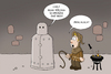 Cartoon: Eiserne Jungfrau (small) by ChristianP tagged eiserne,jungfrau,iron,maiden
