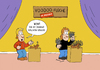 Cartoon: Extremvoodoo (small) by ChristianP tagged extrem,voodoo