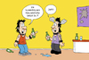 Cartoon: Schwedenpiercings (small) by ChristianP tagged piercing