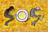 Cartoon: no title (small) by GaiYu tagged africa,hunger,arid,water,help
