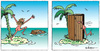Cartoon: Ohne Worte (small) by rpeter tagged insel,inselwitz,wc,schiffbruch
