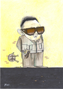 Cartoon: kim Jong Il (small) by Monica Zanet tagged nuclear,missles,missiles,war,peace,kim,jong,il