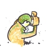 Cartoon: Loneliness (small) by Monica Zanet tagged society,loneliness,free,zanet