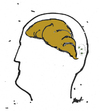 Cartoon: Some minds (small) by Monica Zanet tagged zanet anatomy brain mind