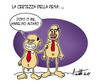 Cartoon: La certezza della pena (small) by ignant tagged berlusconi,politica,cartoon,humor