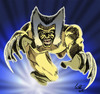 Cartoon: wolverine (small) by ignant tagged wolverin,comic,cartoon,superhero