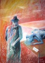 Cartoon: Freud (small) by boa tagged painting,color,oil,boa,romania,painter,landscape