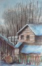 Cartoon: House (small) by boa tagged painting,color,oil,boa,romania,painter,landscape