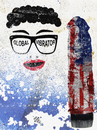 Cartoon: Global vibrator (small) by Zoran Spasojevic tagged emailart,digital,collage,global,vibrator,usa,america,spasojevic,zoran