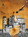 Cartoon: Urban Chick (small) by Zoran Spasojevic tagged emailart,digital,collage,graphics,urbanchick,urban,chick,spasojevic,zoran,paske,kragujevac,serbia