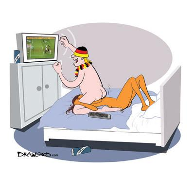 Cartoon: sex position for FHM Germany (medium) by drawgood tagged position, ...
