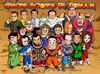 Cartoon: Actores de Doblaje Mexicanos (small) by Neokoi tagged actor,actores,doblaje,mexico,mexicanos,dragon,ball,dbz,batalla,de,los,dioses,battle,of,gods,mario,rene,garcia