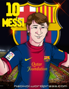 Cartoon: Caricatura de Messi (small) by Neokoi tagged lionel,messi,fc,barcelona,futbol,argentina,spain,catalunya,catalonia