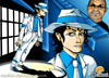 Cartoon: Moonwalker (small) by Neokoi tagged michael,jackson,moonwalker,smooth,criminal