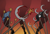 Cartoon: Fault Line Turkey (small) by Tjeerd Royaards tagged is,turkey,terrorism,europe,islam,clash,civilizations