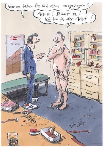 nackt beim arzt