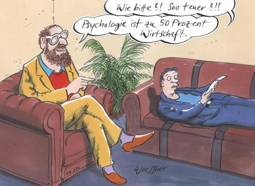 psychologie by woessner business cartoon toonpool. Black Bedroom Furniture Sets. Home Design Ideas