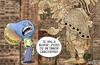 Cartoon: prediccion MAYA (small) by JAMEScartoons tagged 2012,maya,fin,del,mundo,james,jaime,mercado