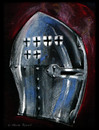 Cartoon: FIGHTER 1410 (small) by JARO tagged medieval,knight,war