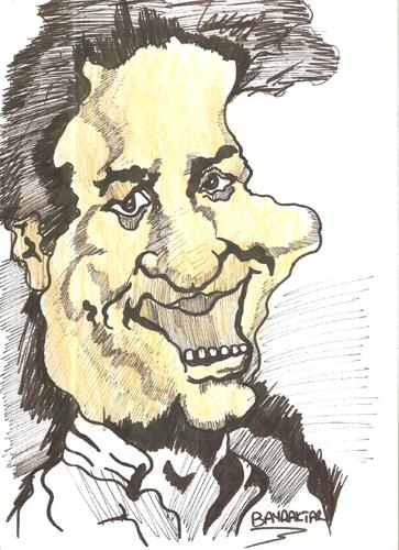 Cartoon: Kemal Sunal (medium) by Seydi Ahmet BAYRAKTAR tagged sunal,kemal