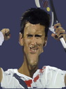 Cartoon: Novak Djokovic (small) by sanakym tagged sport,tennis,novak,djokovic,serbia