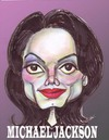 Cartoon: Caricature of Michael Jackson (small) by Steve Nyman tagged caricature of michael jackson