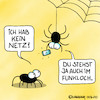 Cartoon: Arme Spinne (small) by Rovey tagged spinne,netz,handy,funkloch,wlan,internet,verbindung,verbinden,mobil,kommunikation,signal,telekommunikation,3g,5g,digital,digitalisierung,dialog,bereich,empfang,spider,mobile,phone,connection,web,net,chat,bugs,blackspot