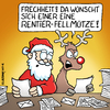 Cartoon: Falscher Wunschzettel (small) by Rovey tagged weihnachten,weihnachtsfest,weihnachtsmann,rentier,rudi,rednose,wunschzettel,geschenke,briefe,lesen,arbeit,bescherung,christmas,santa,claus,gifts,list,of,wishes,work,letter,reading