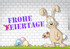 Cartoon: Frohe Eiertage! (small) by Rovey tagged osterhase,frohe,ostern,ostereier,eier,feiertage,fest,festtage,eiertage,hase,wand,mauer,graffiti,bunt,ostergruß,korrektur,änderung,frühling,easter,happy,eggs,wall