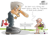 Cartoon: stephen horper (small) by sagar kumar tagged stephen,horper