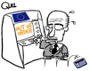 Cartoon: GREEK RESCUE (small) by QUEL tagged greek,rescue