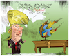 Cartoon: D.Trump (small) by Lacosteenz tagged trump