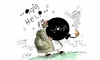 Cartoon: helllllp (small) by hamad al gayeb tagged helllllp