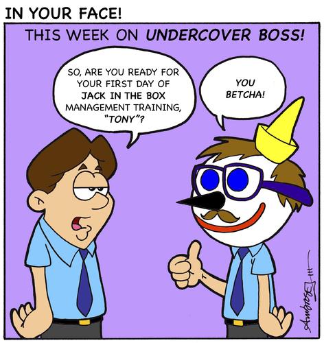 Cartoon undercover boss medium by gopher it comics tagged gopherit