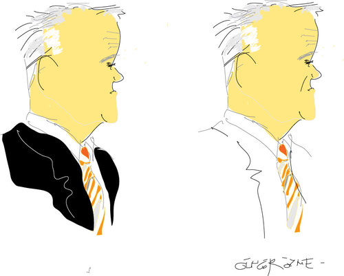 Cartoon: Malcolm Turnbull (medium) by gungor tagged australia