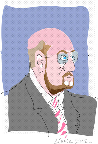Cartoon: Martin Schulz (medium) by gungor tagged germany