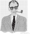 Cartoon: Arthur Miller (small) by gungor tagged usa