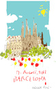 Cartoon: Barcelona (small) by gungor tagged spain